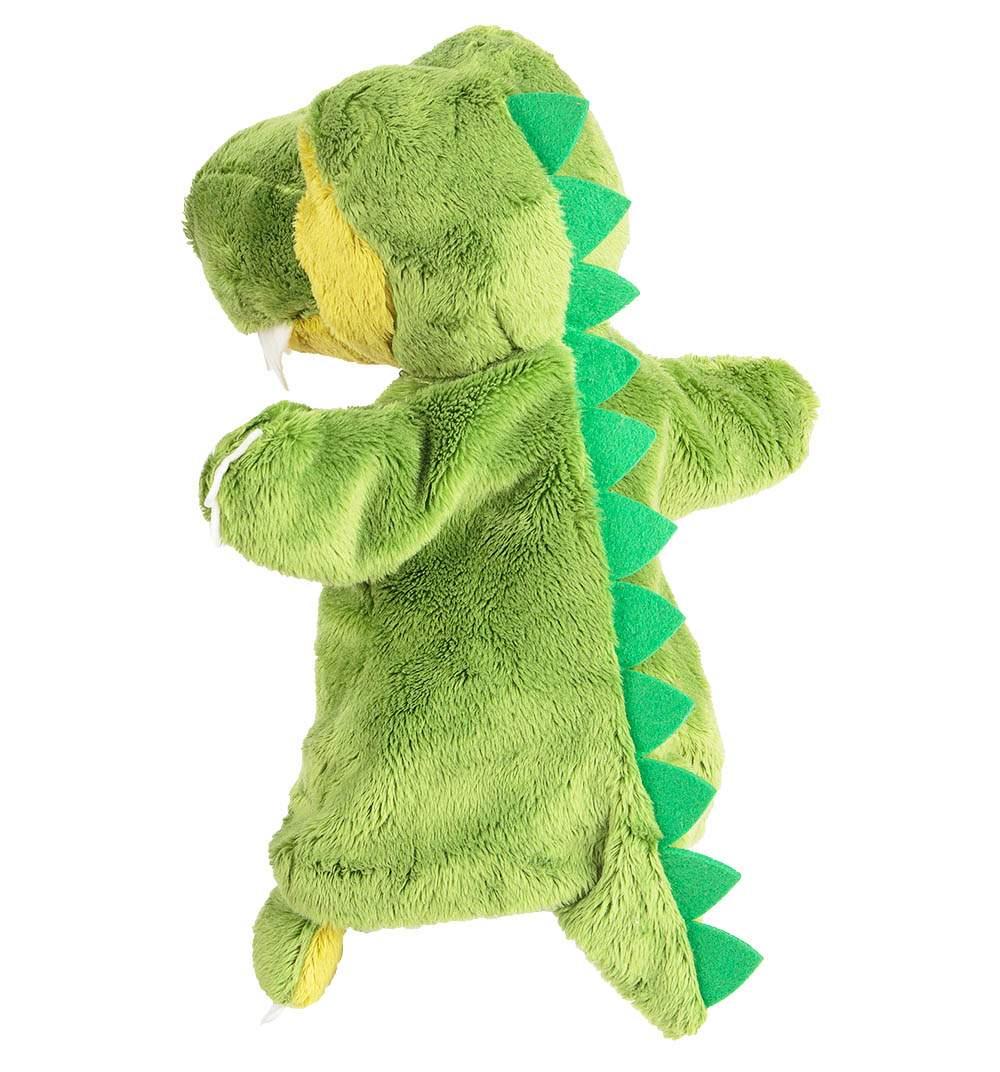 Мягкая игрушка Trudi на руку Динозавр с динозавриком 28 см 29999