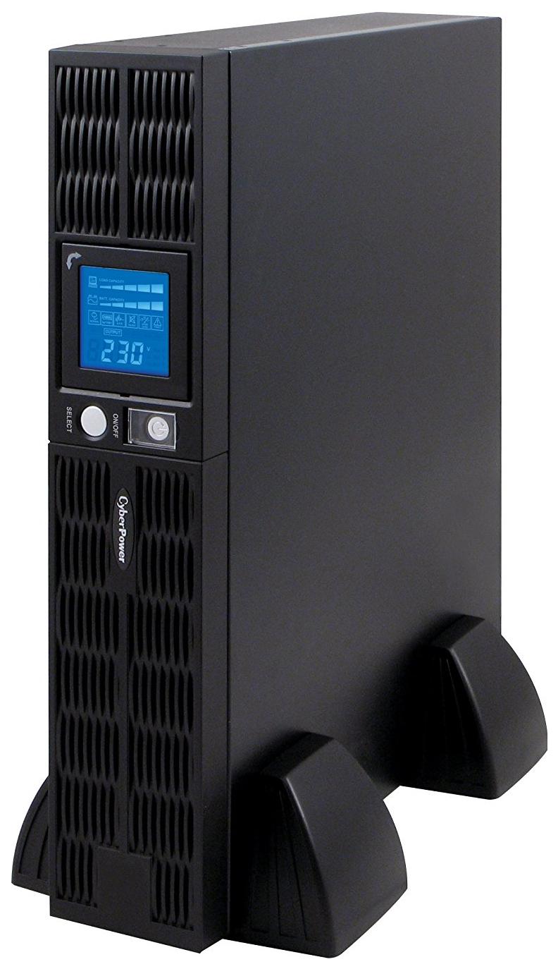 Источник бесперебойного питания CyberPower Professional Rackmount LCD PR1000ELCDRT2U Black