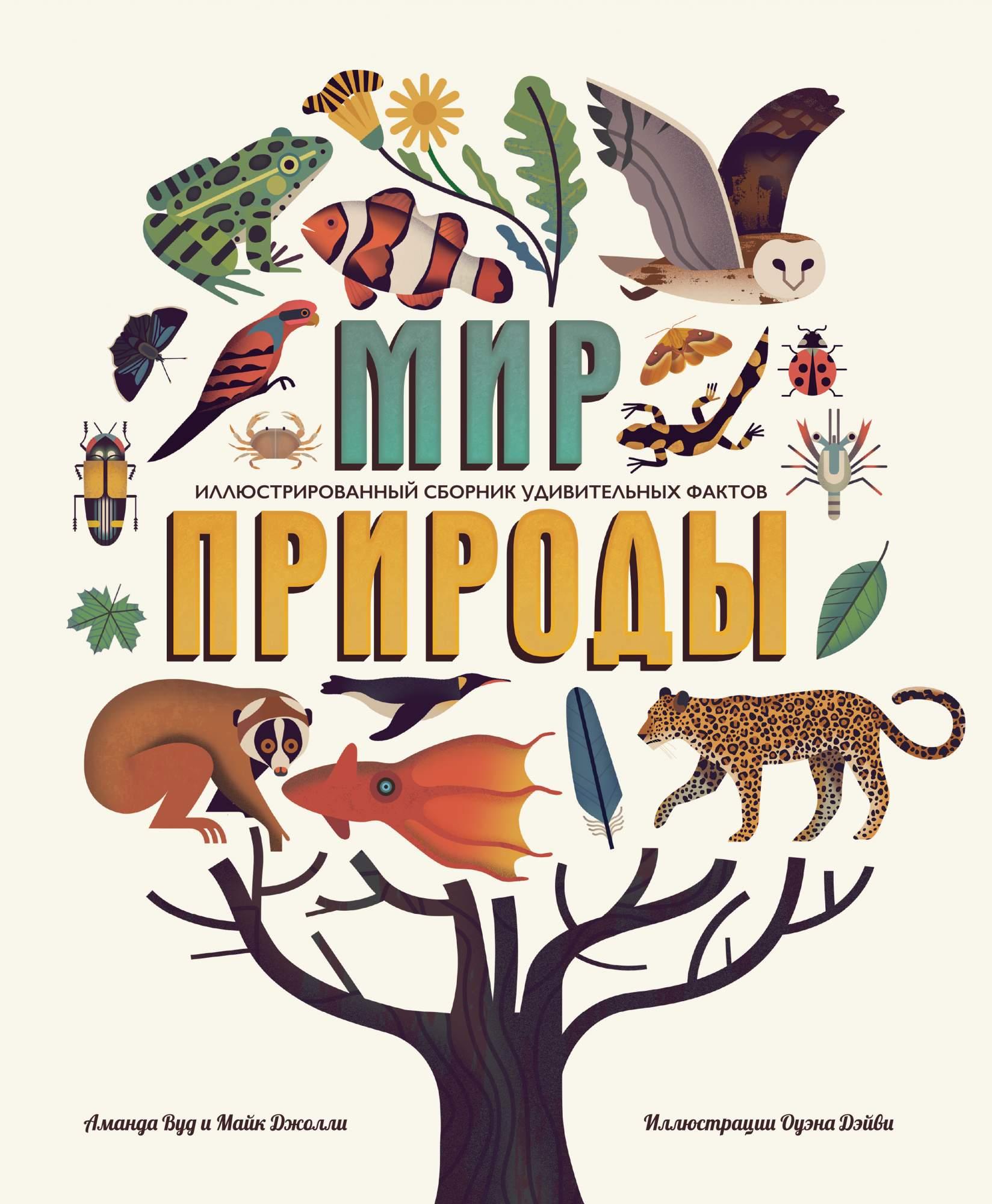 Книга для детей природа в картинках