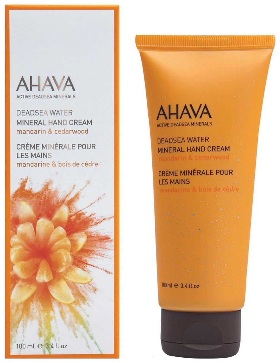 Крем для рук Ahava Deadsea Water Mineral Hand Cream Mandarin & Cedarwood 100 мл