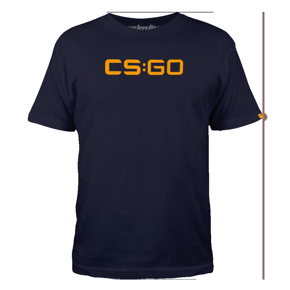 Футболка CS:GO Navy Logo (S)