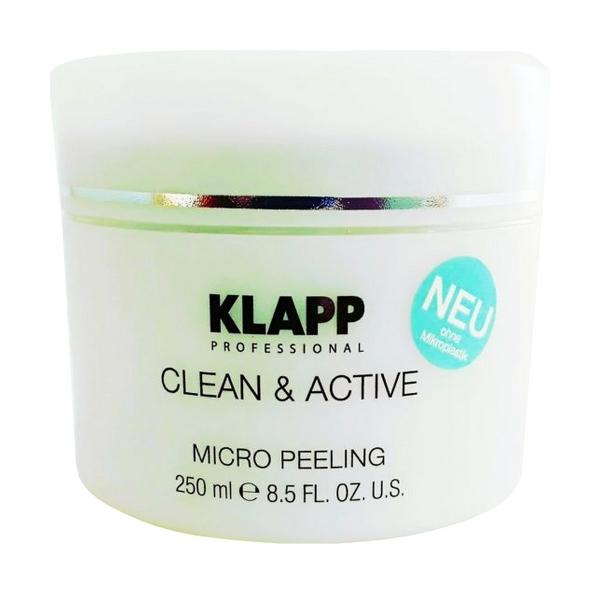 Пилинг для лица KLAPP CLEAN&ACTIVE Micro Peeling 250 мл