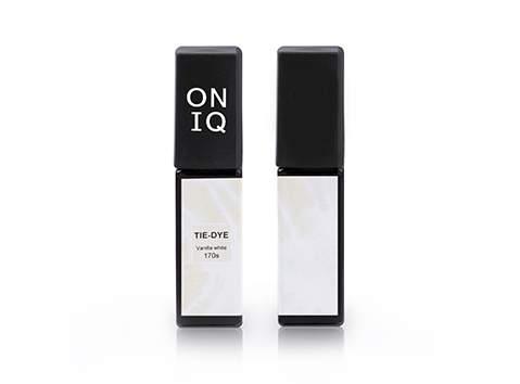 Гель-лак Oniq Tie-dye: 170 Vanilla white, 6 мл