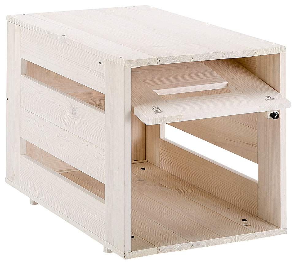 Домик для собак Ferplast Dog Home Large деревянный 100х71х78 см бежевый