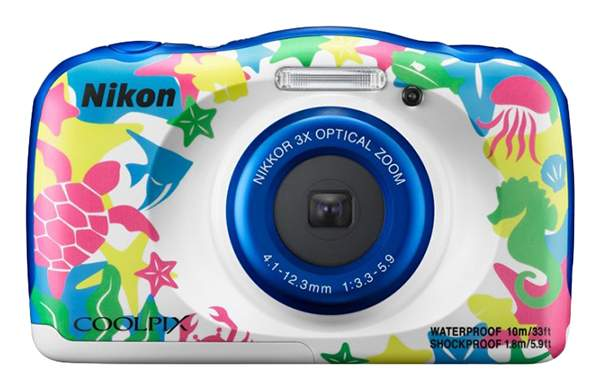Фотоаппарат цифровой компактный Nikon COOLPIX W100 VQA014K001 Multicolour
