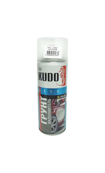 Фотография Грунт автомобильный KUDO KU-2201 грунт-наполнитель 520 мл №1