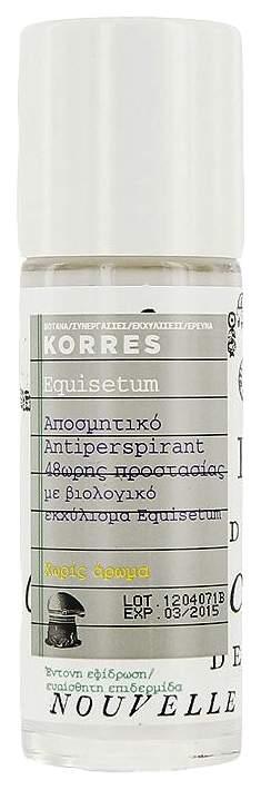 Дезодорант-антиперспирант Korres Equisetum 48h Anti-Perspirant Deodorant Fragrance Free
