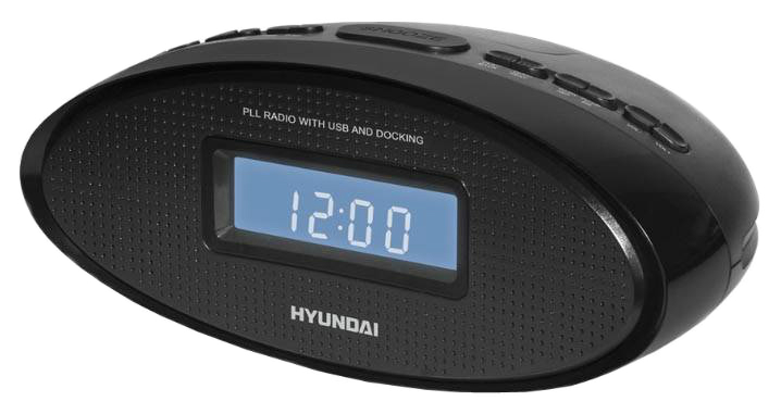 Радио-часы Hyundai H-1535 Черный