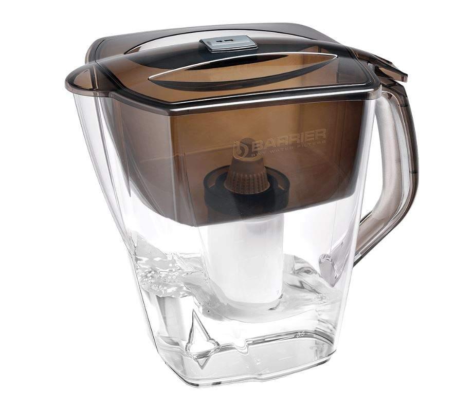 Фильтр для очистки воды Барьер Гранд Нео антрацит