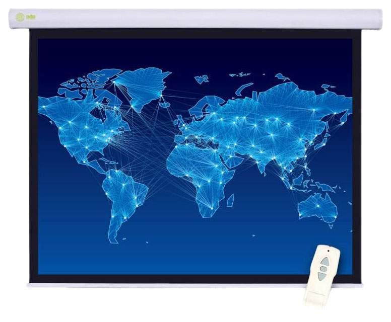Экран для видеопроектора Cactus Motoscreen CS-PSM-127X127 Белый