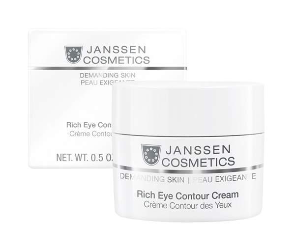 Крем для глаз Janssen Demanding skin Rich Eye Contour Cream 15 мл