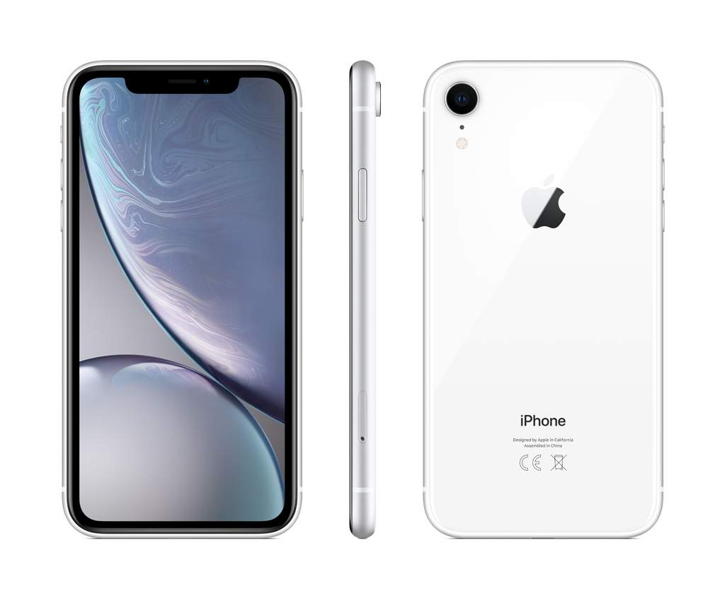 Смартфон Apple iPhone XR 128GB White (MRYD2RU/A)