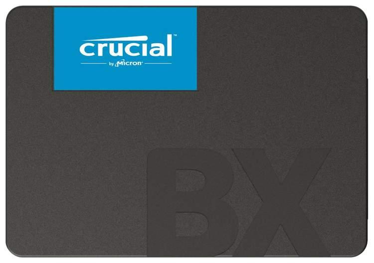 Фотография Внутренний SSD накопитель Crucial BX500 480GB (CT480BX500SSD1) №1
