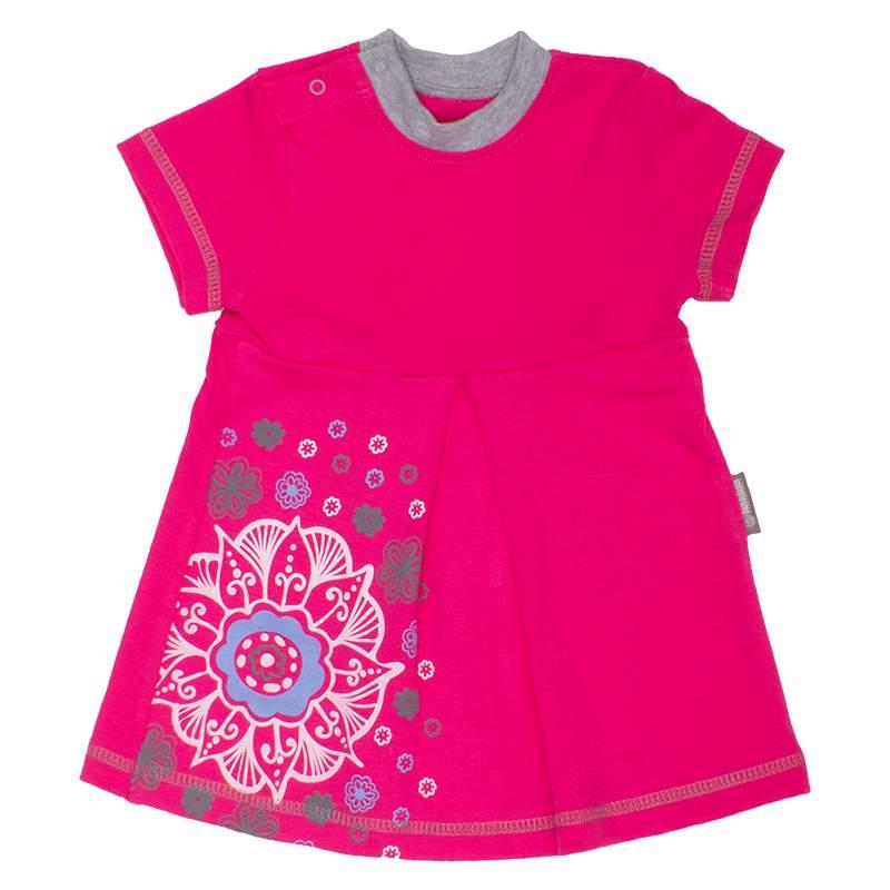 Платье Bambinizon ПЛ-ТБ розовое р.62
