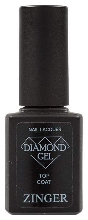 Топ Zinger Diamond gel Top Coat 700 12 мл