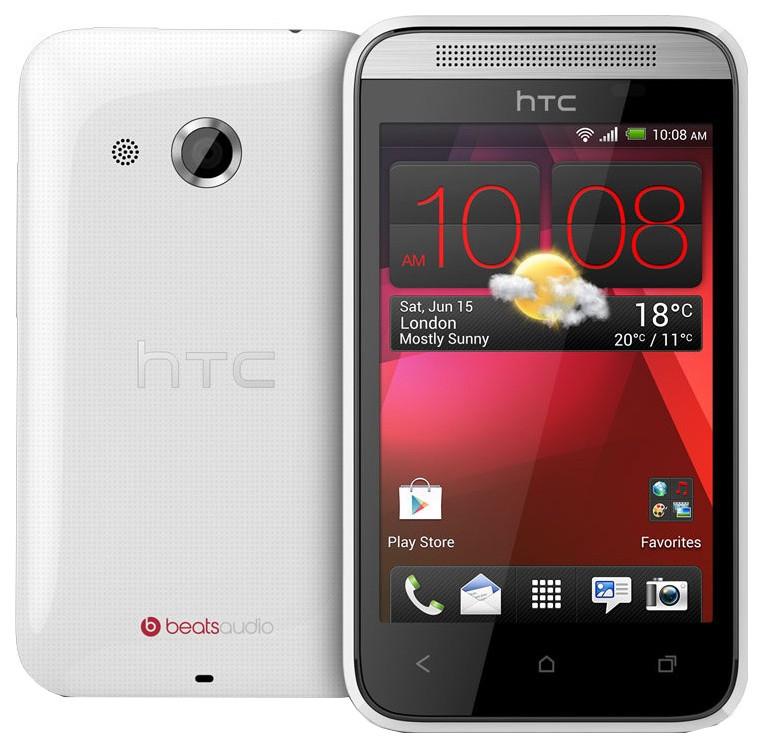 Смартфон HTC Desire 200 Dual Sim 4Gb White