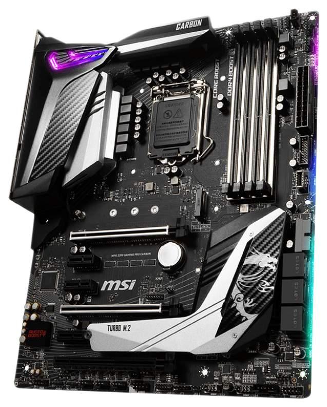 Материнская плата MSI MPG Z390 GAMING PRO CARBON