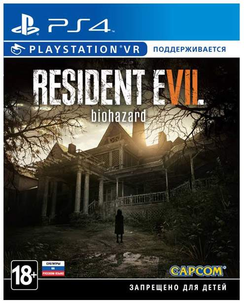 Игра для PlayStation 4 Resident Evil 7 Biohazard VR