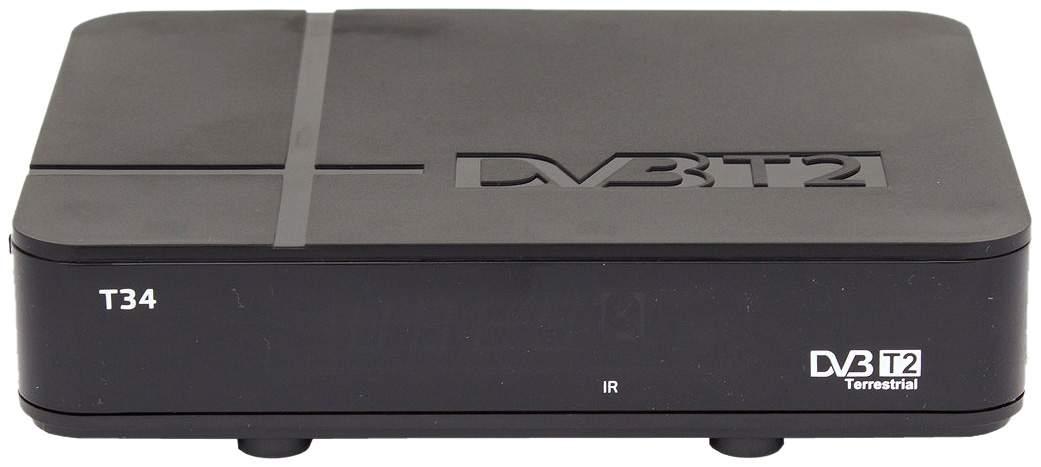 DVB-T2 приставка Сигнал T34 Black