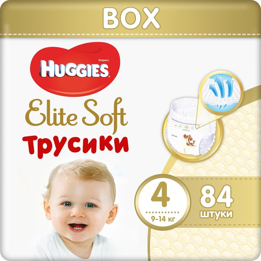 Подгузники Huggies Elite Soft Трусики 4 84 шт