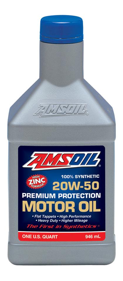 Моторное масло Amsoil Premium Protection 20W-50 0,946л