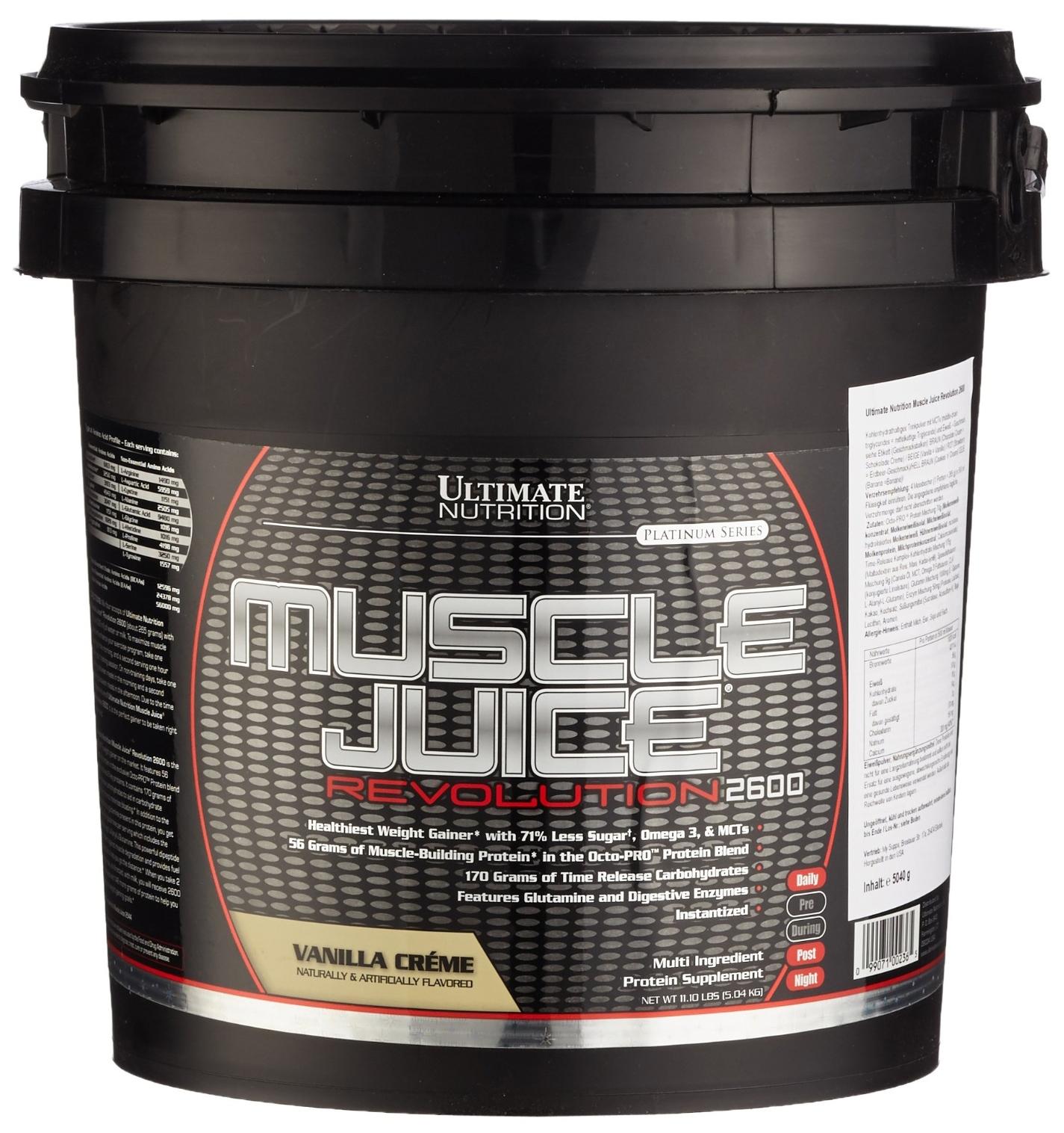 Гейнер Ultimate Nutrition Muscle Juice Revolution 5000 г Chocolate