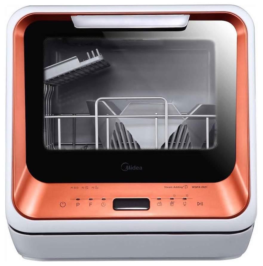 Посудомоечная машина компактная Midea MCFD42900OR MINI orange