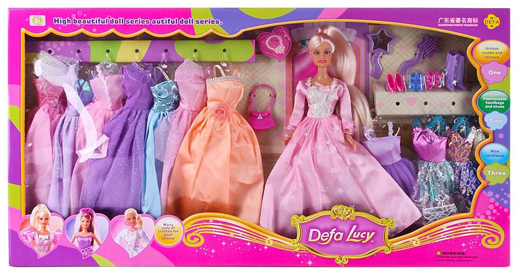 Кукла defa lucy с набором платьев 8193 в ассортименте
