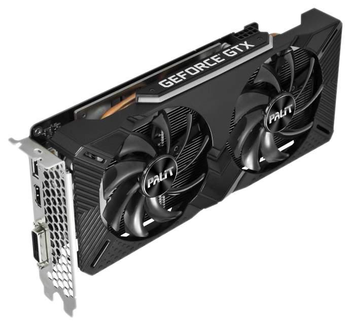 Видеокарта Palit GeForce GTX 1660 Ti Dual 6Gb