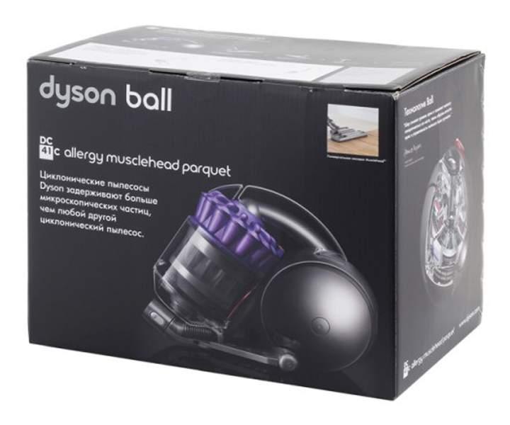 Пылесос с контейнером dyson dc41c allergy musclehead parquet насадка dyson для животных