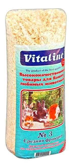 Наполнитель для клеток грызунов VITALINE, №3, 14,7 л