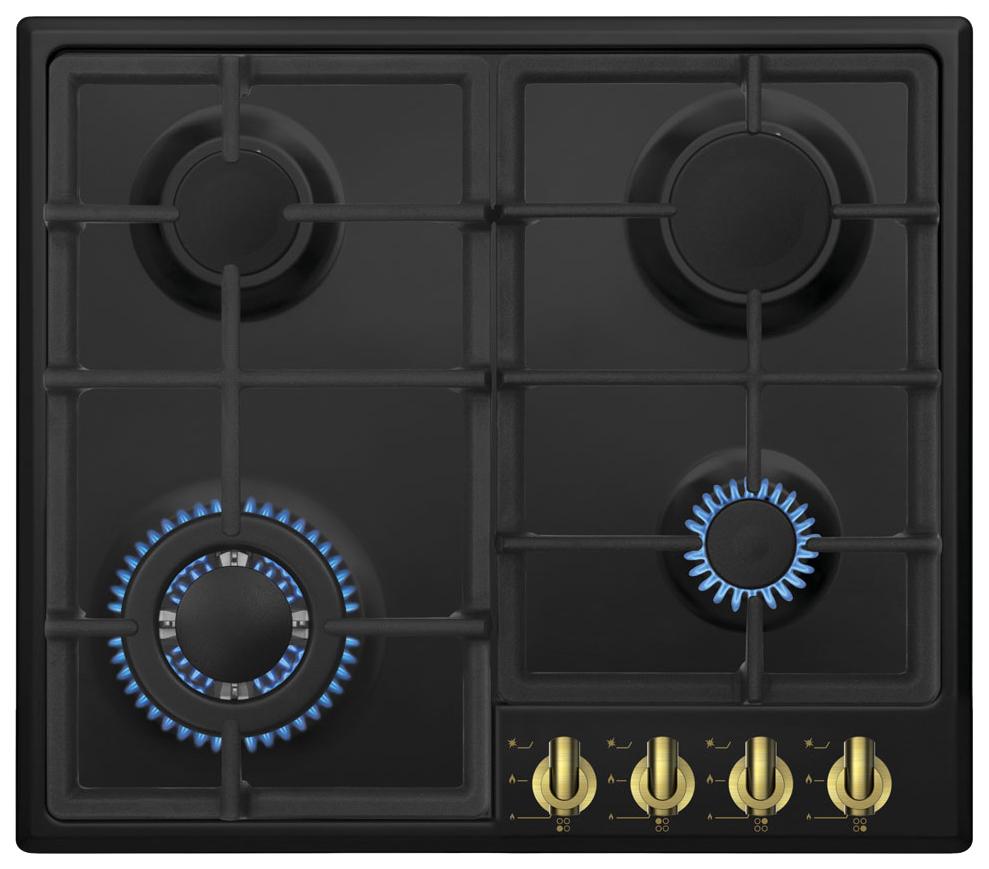 Встраиваемая варочная панель газовая Zigmund & Shtain GN 238.61 A Black