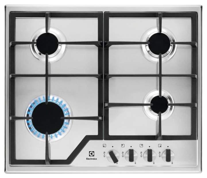 Встраиваемая варочная панель газовая Electrolux GPE 263 MX Silver