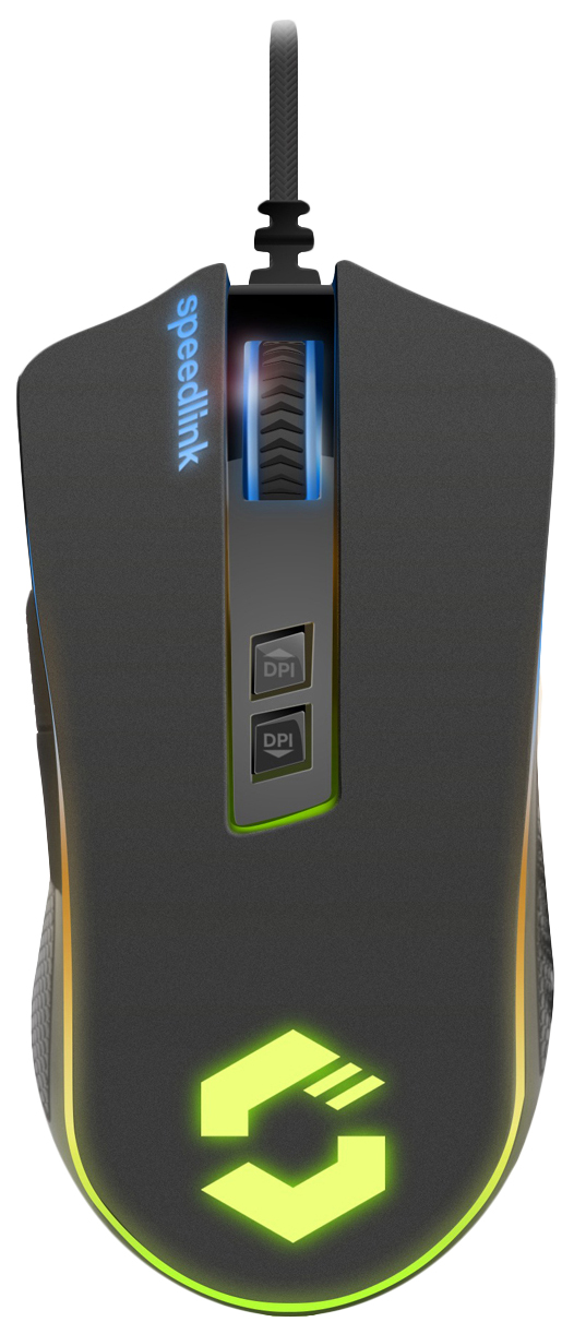 Игровая мышь SPEED-LINK Orios Rgb Black (SL-680010-BK-01)