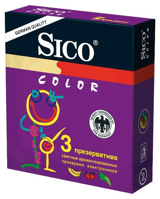 Презервативы Sico Color 3 шт.