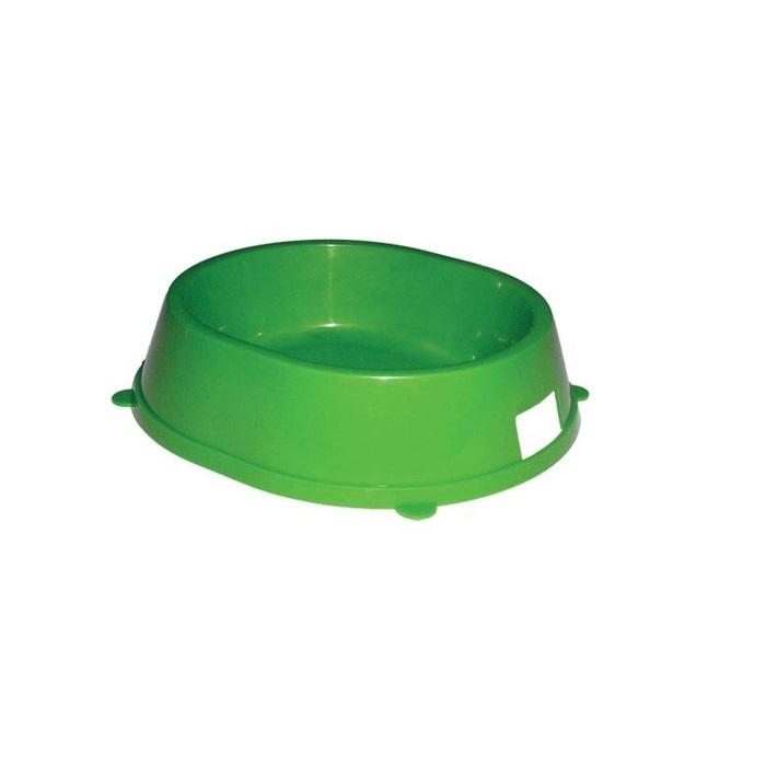 Одинарная миска для кошек и собак Gamma, пластик, в ассортименте, 0,3 л