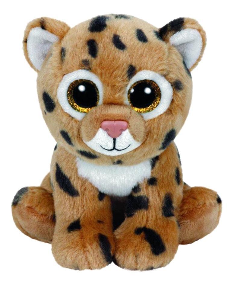 Мягкая игрушка TY Beanie Babies Леопард Freckles, 20 см