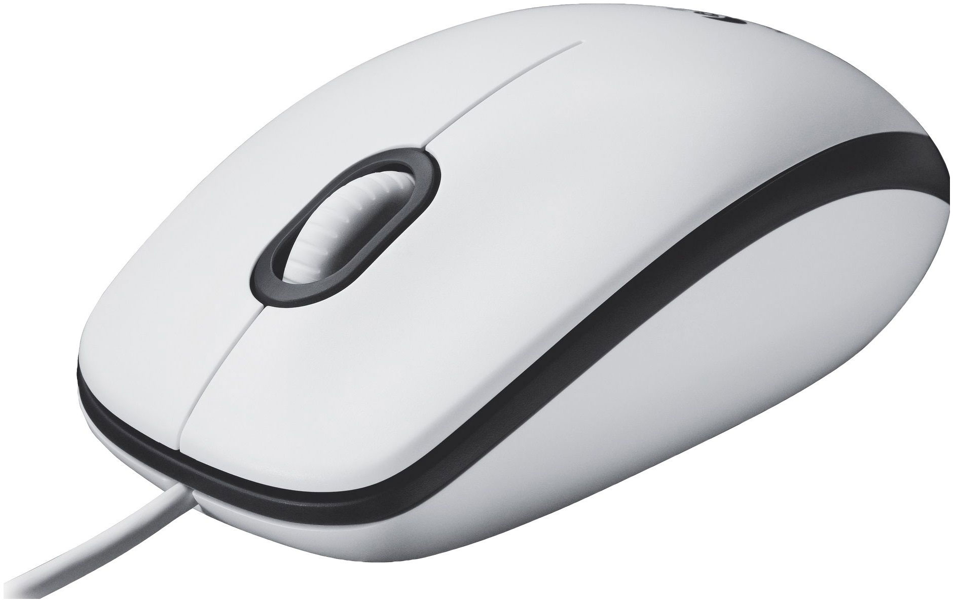 Проводная мышка Logitech M100 White (910-001605)