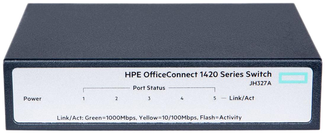 Коммутатор HP OfficeConnect JH327A JH327A Серый, черный