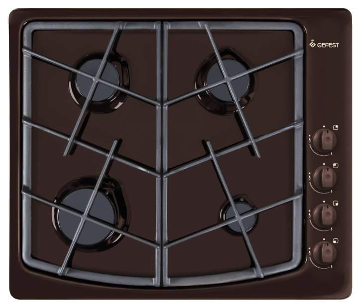 Встраиваемая варочная панель газовая GEFEST СН 1211 К17 Brown