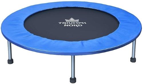 Батут Triumph Nord 80055 95 см, черный/синий