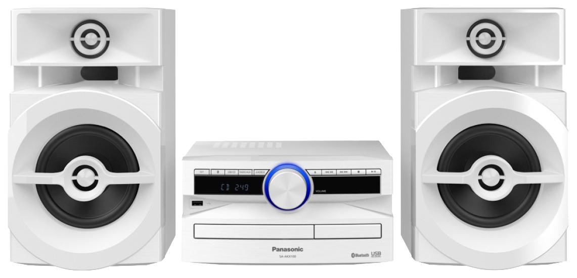 Музыкальный центр Micro Panasonic SC-UX100EE-W белый