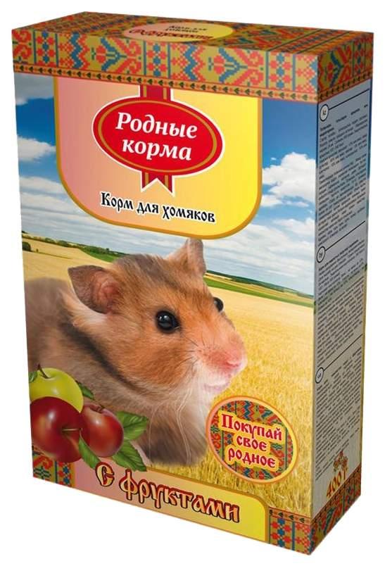 Корм для хомяков Родные корма фрукты 0.4 кг 1 шт