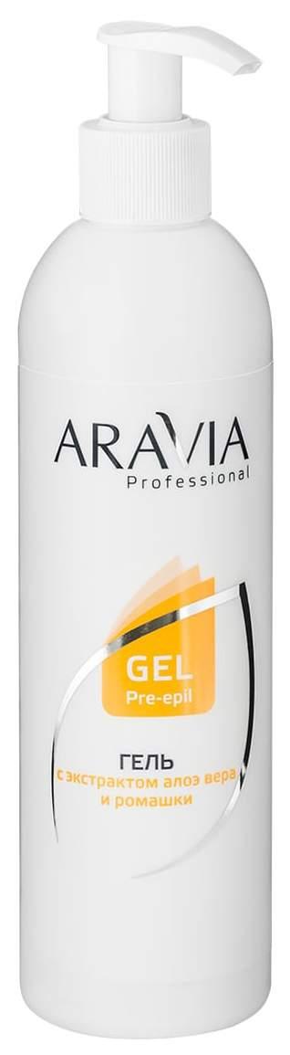 Средство для депиляции Aravia Professional Гель с экстрактами Алоэ вера и ромашки 300 мл