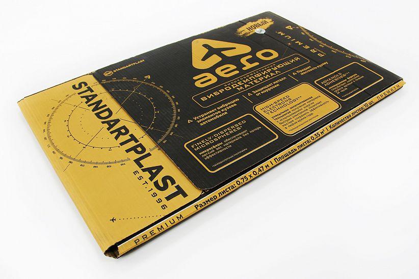 Вибропоглощающий материал StP Aero. Упаковка 10 листов 00653-09-00