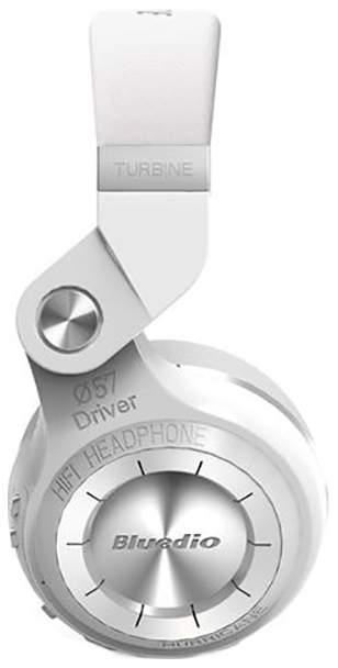 Миниатюра Беспроводные наушники Bluedio T2 Plus White №5