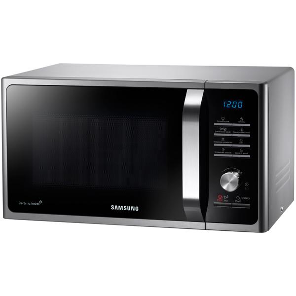 Микроволновая печь соло Samsung MS23F302TQS silver/black