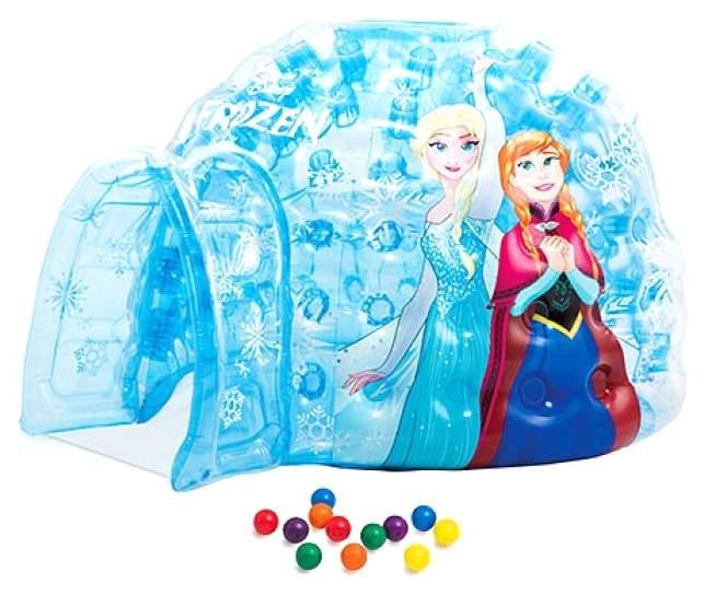 Надувной игровой центр Intex Холодное сердце с 12 шариками