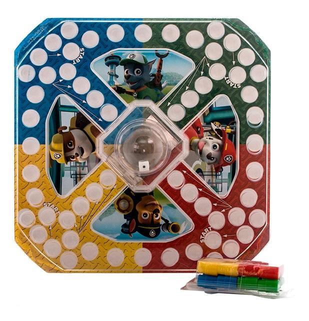 Настольная игра Paw patrol 6028799 Щенячий патруль настольная игра с кубиком и фишками