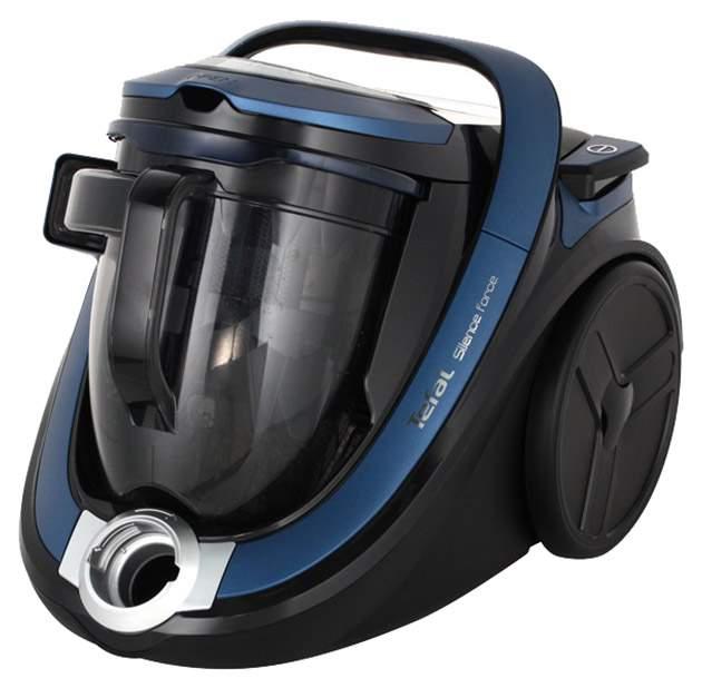 Пылесос Tefal Silence Force 4A TW7681EA Blue/Black